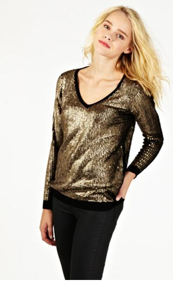 oasis-stores.com Sequin Jumper £65.00