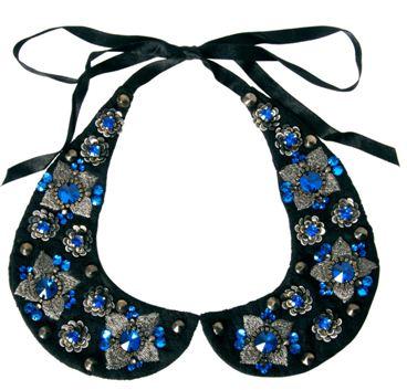 Asos.com  ASOS Embellished Stone Floral Collar  £18.00