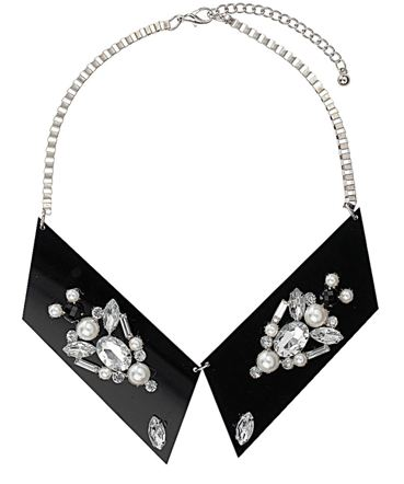 Topshop.com  Acrylic Stone Collar  Price: £25.00