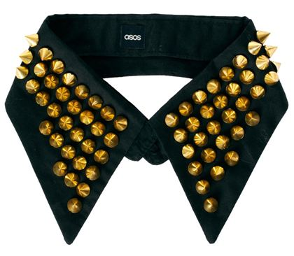 Asos.com  ASOS Stud Collar  £15.00