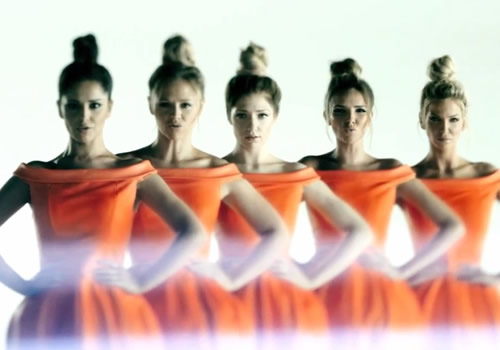 Girls Aloud in their new 2012 Music Video
