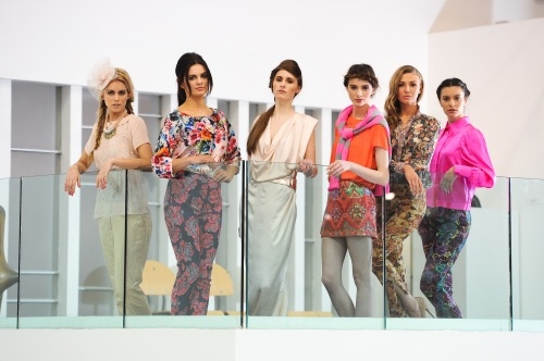3.	Get ready for Spring!  Models pictured at the launch of West Coast Cooler FASHIONWEEK in the latest spring/summer fashions from CastleCourt, George at Asda and Una Rodden at the Ulster Museum.