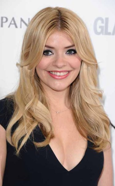 Holly Willoughby Bangs