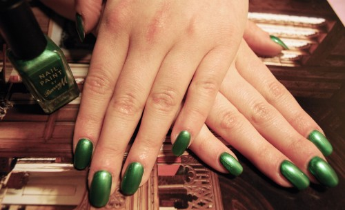 Barry M Emerald Green