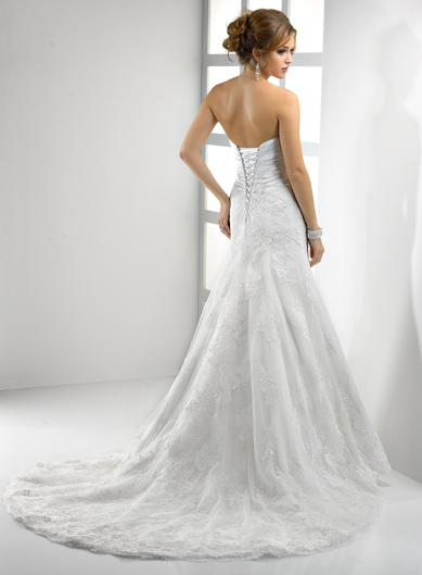 'Freya' by Sottero and Midgley (Back)