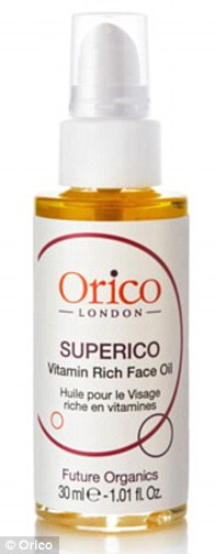 Orico Superico Vitamin Rich Face Oil