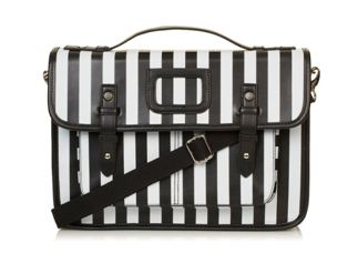 Top Shop Stripe Print Satchel  www.topshop.com    £34.00