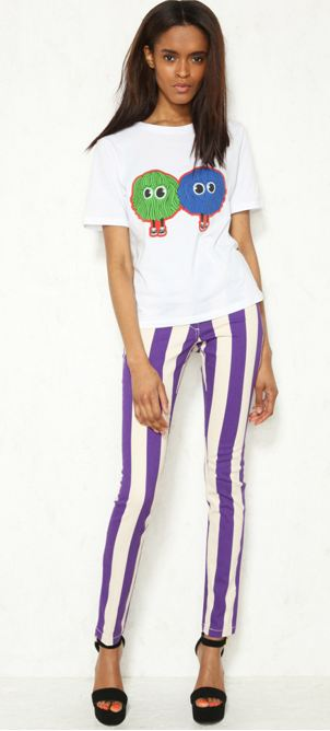 House of Holland Striped Skinny Jeans  www.urbanoutfitters.co.uk  £140.00