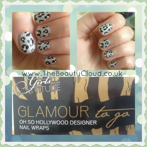 Cheetah Style Nail Wraps by www.girlswithattitude.co.uk