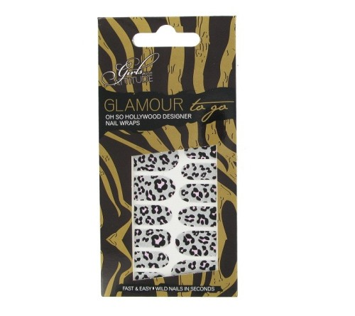 Girls With Attitude - Cheetah Style Nail Wraps