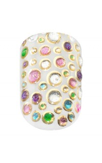 Elegant Touch Candy Sprinkles Nail Wraps