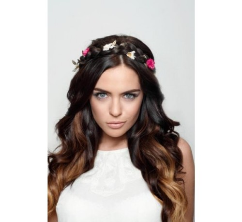 Beautyworks Flower Braided Head Band