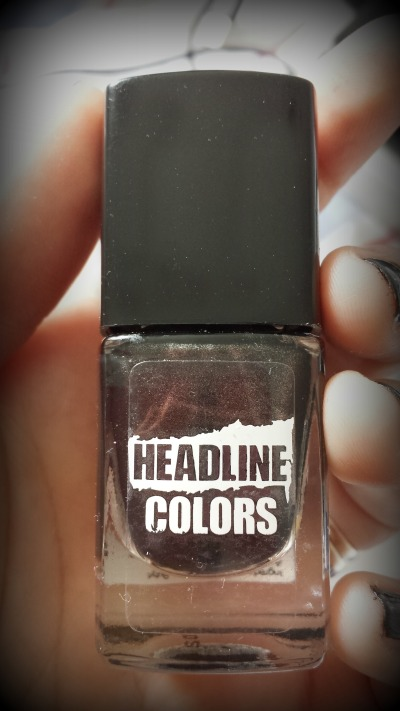 Headline Colours Nail Polish in 'Gunmetal'