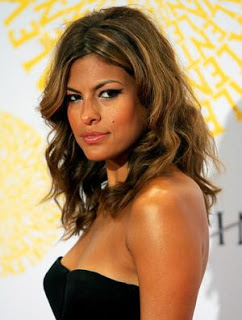 Eva Mendes. Summer Kink Hair