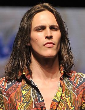 long mens hair catwalk runway 2014