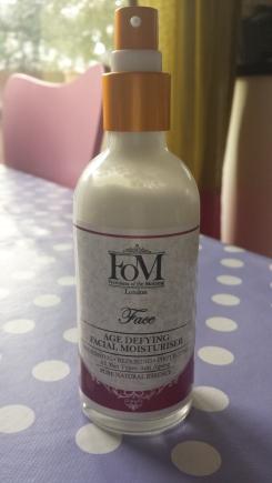 Freshness of the morning age defying moisturiser