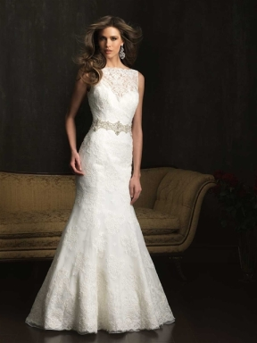 high neck, wedding dress, bridal, trends, 2014, lace,