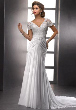 wedding, bridal, dress, sleeves, beaded, sottero & midgley, 2014, trends