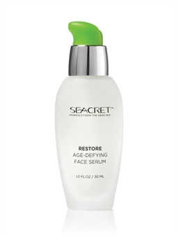 Seacret RESTORE Age Defying Face Serum Dead Sea Minerals