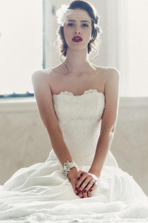 Charlotte Balbier Wedding Dress Lace