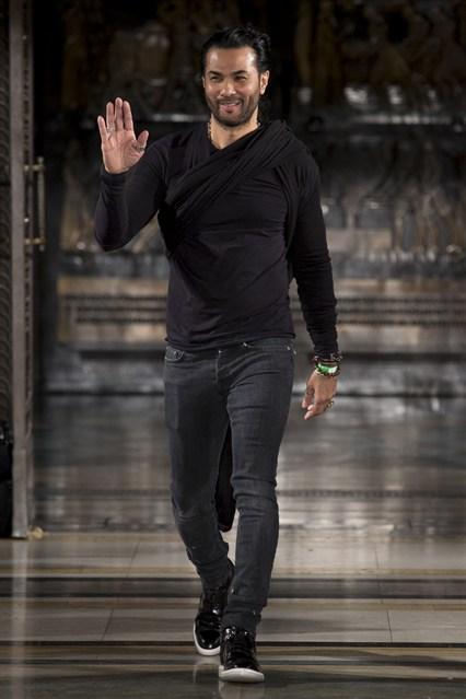 Bernard Chandran AW14, Bernard Chandran, London Fashion Week, LFW, Nora Nona, Nuala Campbell, Makeup, MUA, Makeup Artist, Fashion, Leather