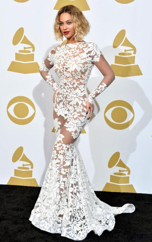 Beyonce at The Grammys 2014