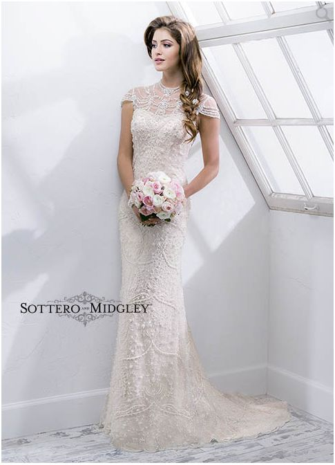 Sottero and Midgley Wedding Dress Spring 14