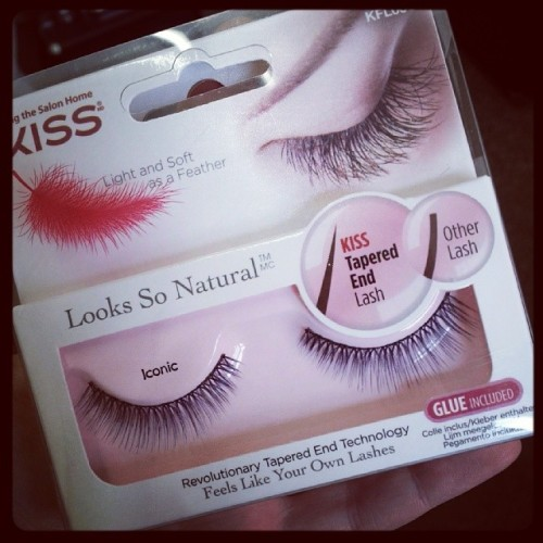 Kiss Lashes, looks so natural, launch, new, fake, falsies, false, lashes, eyelashes