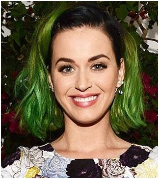 Katy Perry Green Hair Dye