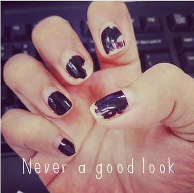 Chipped, cracked, nails, smudged, long lasting, perfect manicure, top tips,