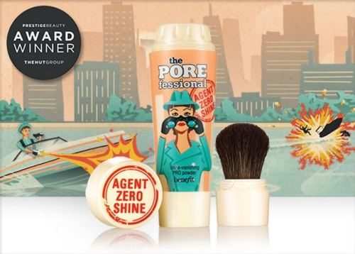 Porefessional, benefit cosmetics, agent zero shine, minimise pores, reduce shine, zero shine, agent zero shine, nuala campbell, makeup, powder, makeup artist. belfast,