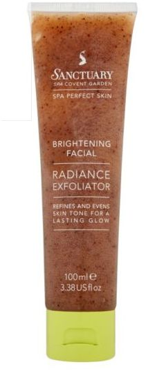Sanctuary Spa Covent Garden Radiance Exfoliator