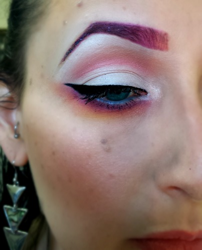 MOTD, Makeup of the Day, Nuala Campbell, Makeup Artist, MUA, belfast, Sleek Makeup, Eyeshadow, Sealing Gel, Illamsqua