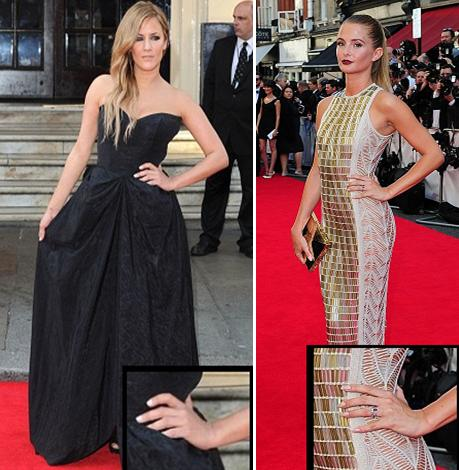 2014 BAFTAs Red Carpet Nails