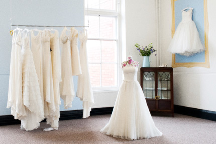 Amazing bridal boutique environments