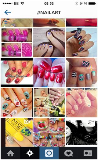 Instagram #NAILART