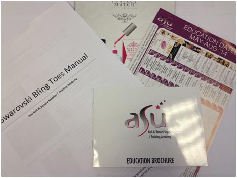 Workshop materials at ASU Beauty Training Academy