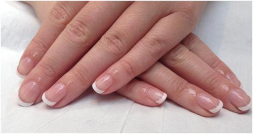 Beautiful Kiss French Manicure
