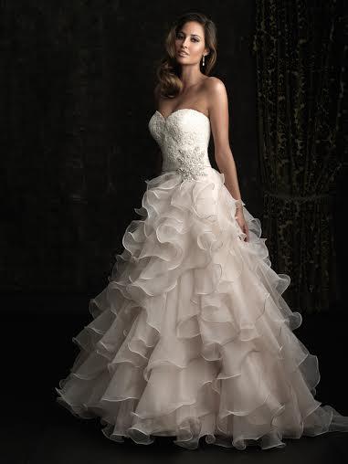 Alyssa Wedding Dress by Allure Bridals