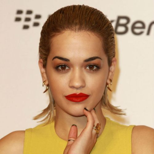 Rita Ora_Slicked Back Hair