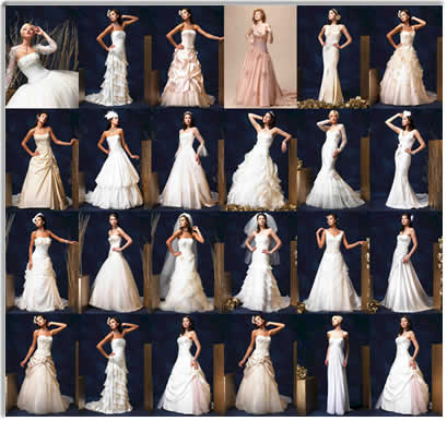 Trying to find the perfect wedding dress