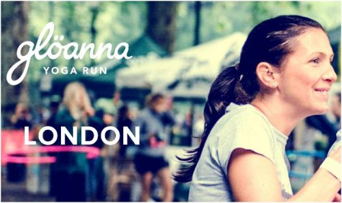 Gloanna Yoga Run, London