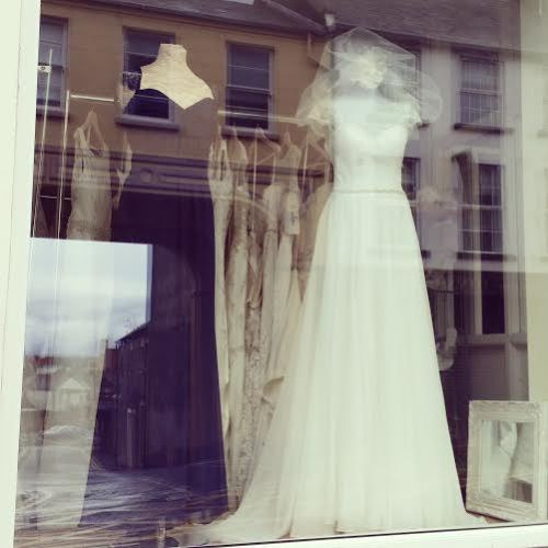 Cathedral Gowns, shop front