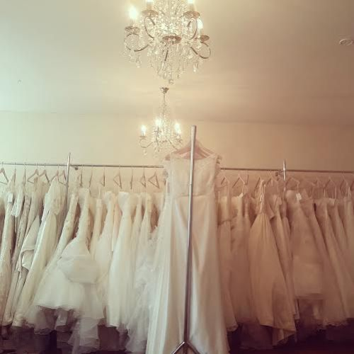 Cathedral Gowns, wedding dresses on a rack