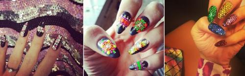 Lilly Allen, Embellished Nails