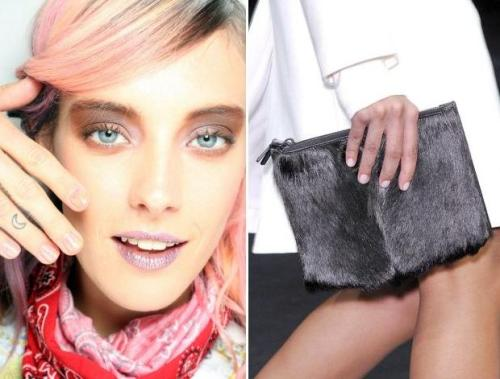 NY Fashion Week Nail Trends: Rodarte & Helmut Lang