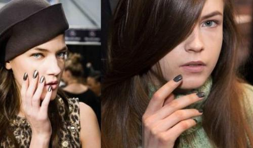 NY Fashion Week Nail Trends: Vera Wang and Badgley Mischka